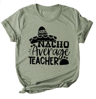 Nacho average teacher shirt - teacher t-shirts on Amazon