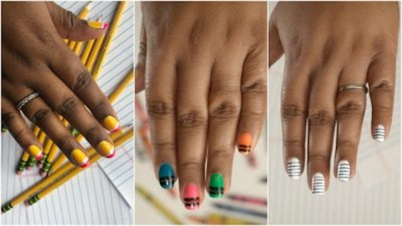 Best Teacher Nail Art Designs