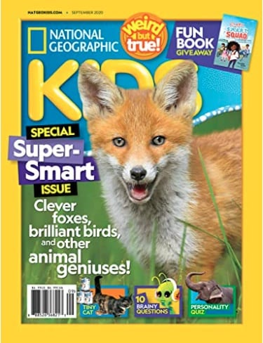 National Geographic for Kids magazine cover