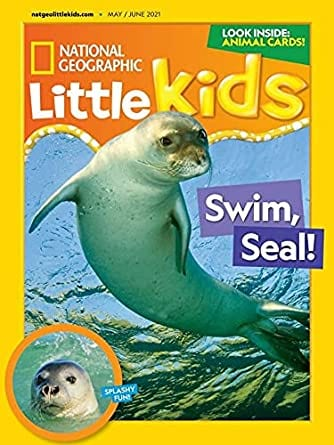 Sample issue of National Geographic Little Kids magazine as an example of best magazines for kdis