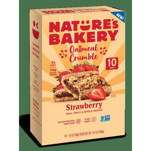 Nature's Bakery Çilekli Yulaf Ezmesi