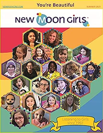 Same issue of New Moon Girls magazine as an example of best magazines for kids