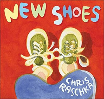 Book cover for New Shoes as an example of mentor texts for narrative writing