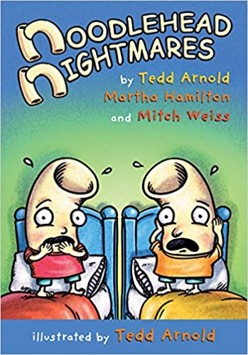 Book cover for Noodlehead Nightmares as an example of graphic novels for kids