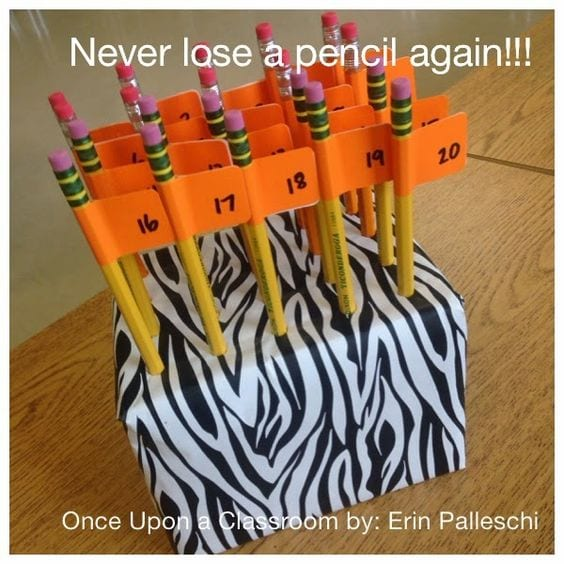 Have a System for Pencils - 10 Classroom Procedures to Save Your Sanity