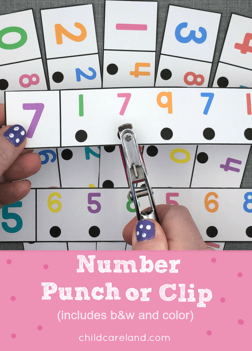 Number punch or clip