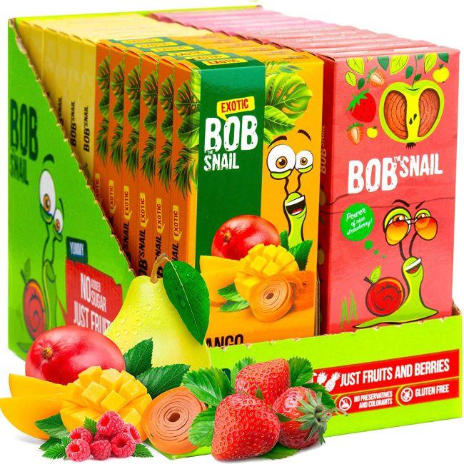 Bob Snail Fruit Rolls boxes