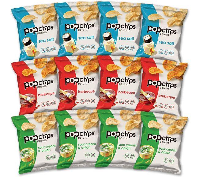 Nut-Free Snacks: Popchips Snack Bags
