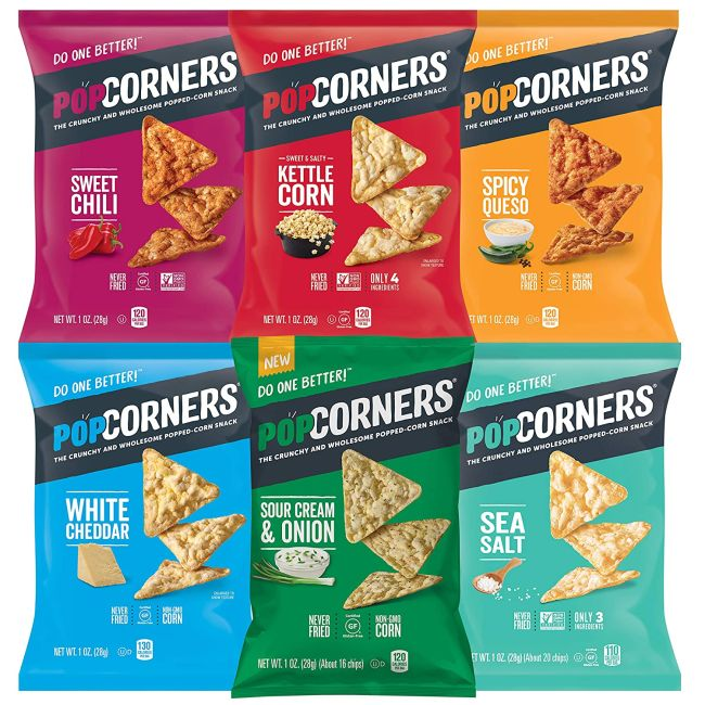 PopCorners chips variety pack