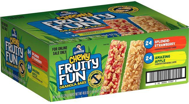Quaker Fruity Fun Granola Bars
