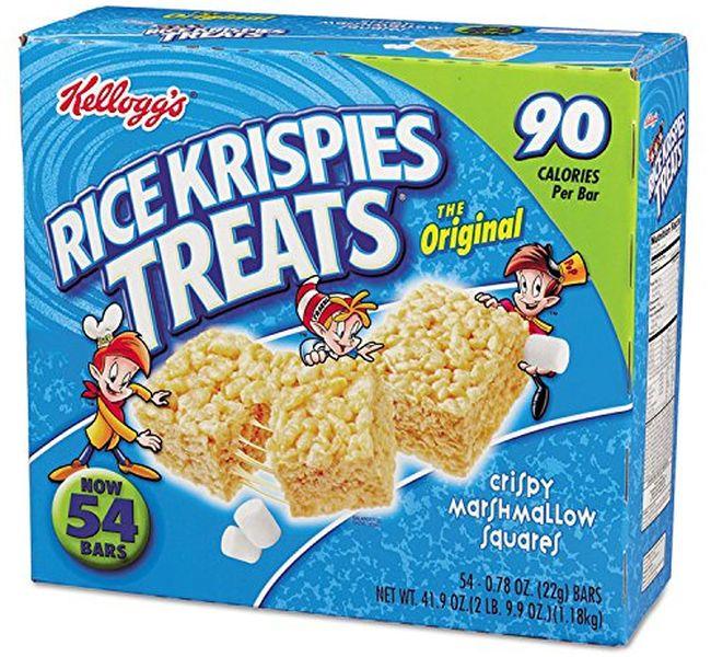 Nut-Free Snacks: Rice Krispies Treats