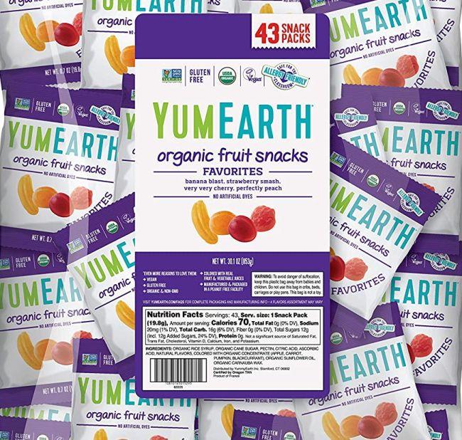Nut-Free Snacks: YumEarth Fruit Snacks