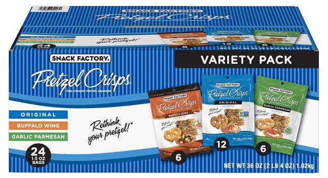 Nut-Free Snacks: Pretzel Crisps
