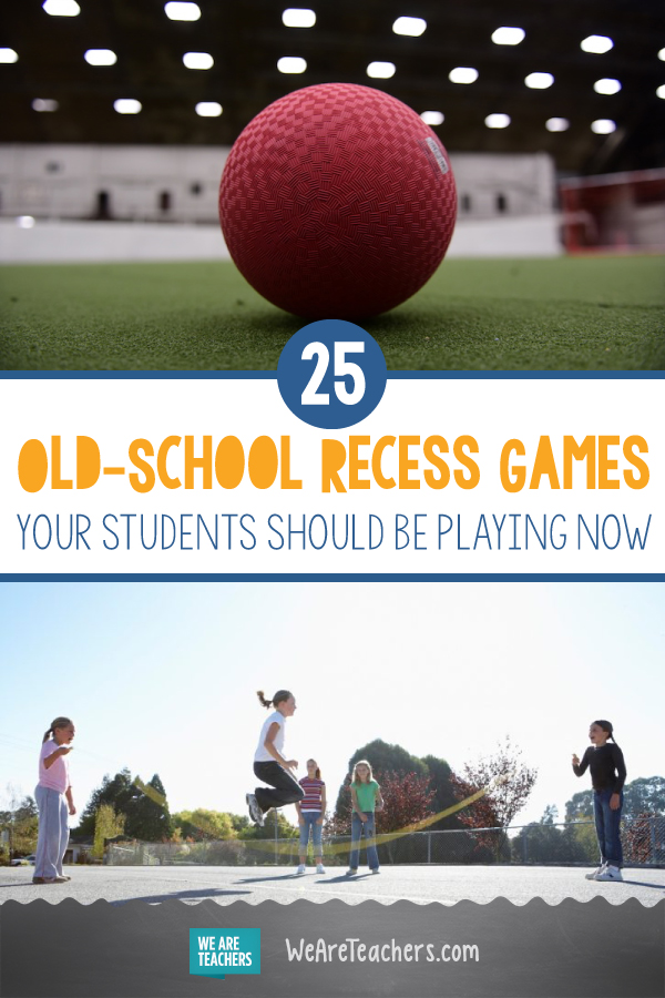 25 Old-School Recess Games Your Students Should Be Playing Now