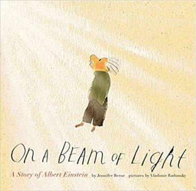 Book cover for On a Beam of Light: A Story of Albert Einstein