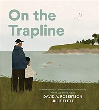 Book cover for On the Trapline