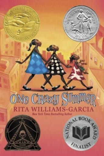 One Crazy Summer book cover (Summer Reading List)