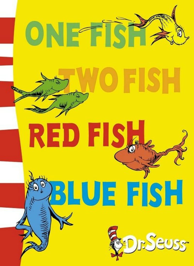 4 Read One Fish Two Red Blue