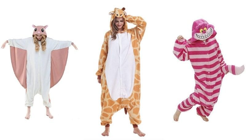 if you love comfort at halloween consider going the onesie route there are so many great animal onesie costumes on amazon these are some of our favorites