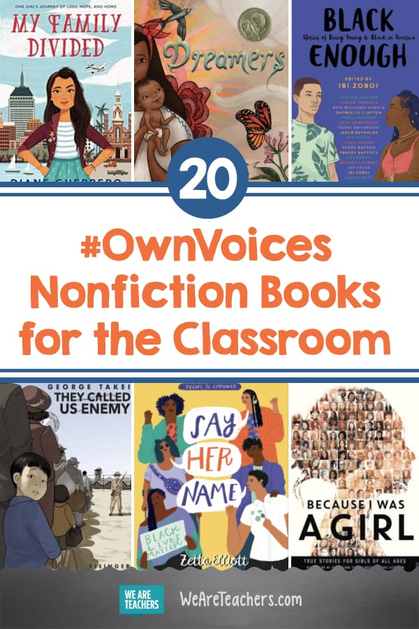 20 #OwnVoices Nonfiction Books for the Classroom