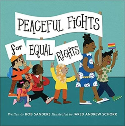 Peaceful Fights for Equal Rights book cover