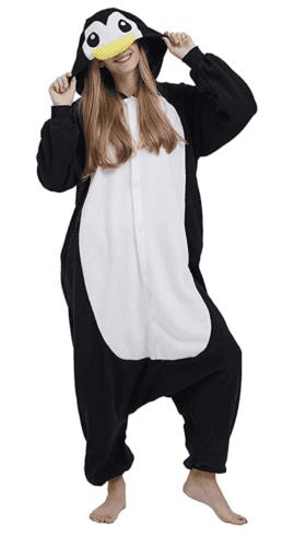 Adult penguin onesie pajamas