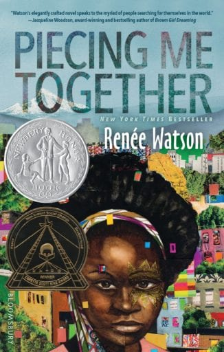 Piecing Me Together book cover--middle school books