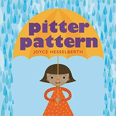 Book cover for Pitter Pattern as an example of books about math for kids
