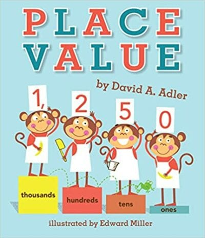 Book cover for Place Value as an example of books about math for kids