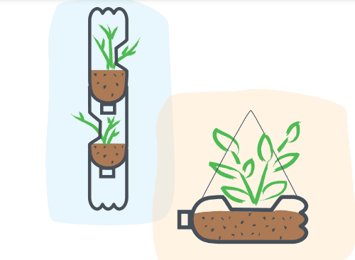 Illustrated planter
