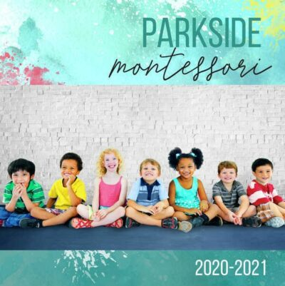 Parkside school yearbook cover image