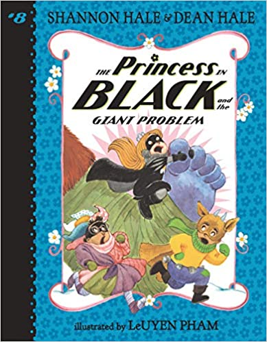 Book cover for The Princess in Black and the Giant Problem as an example of kids books about monsters