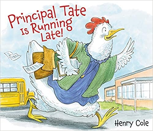 Principal Tate is Running Late book cover