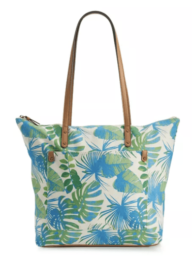 Sonoma Print tote bag, as an example of teacher tote bags