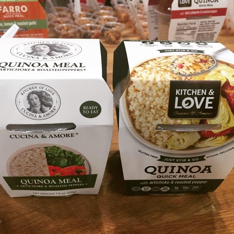 cucina and amore - quinoa snacks