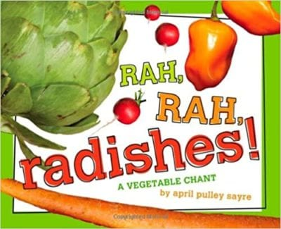 Book cover for Rah Rah Radishes: A Vegetable Chant