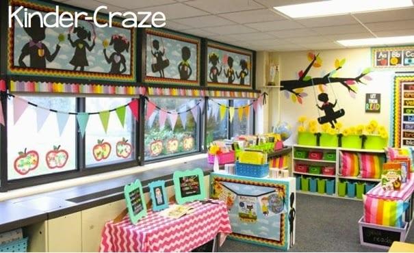 Rainbow chalkboard ideas for the classroom
