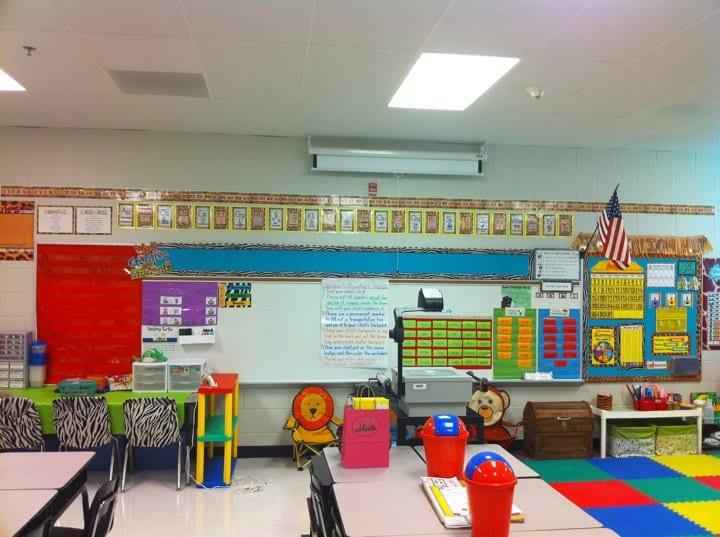 Raiinbow classroom themes ideas