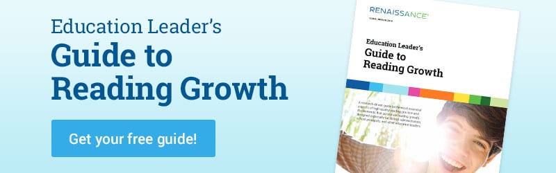 Book Cover: Guide to Reading Growth | Get Your Free Guide - Digital Libraries