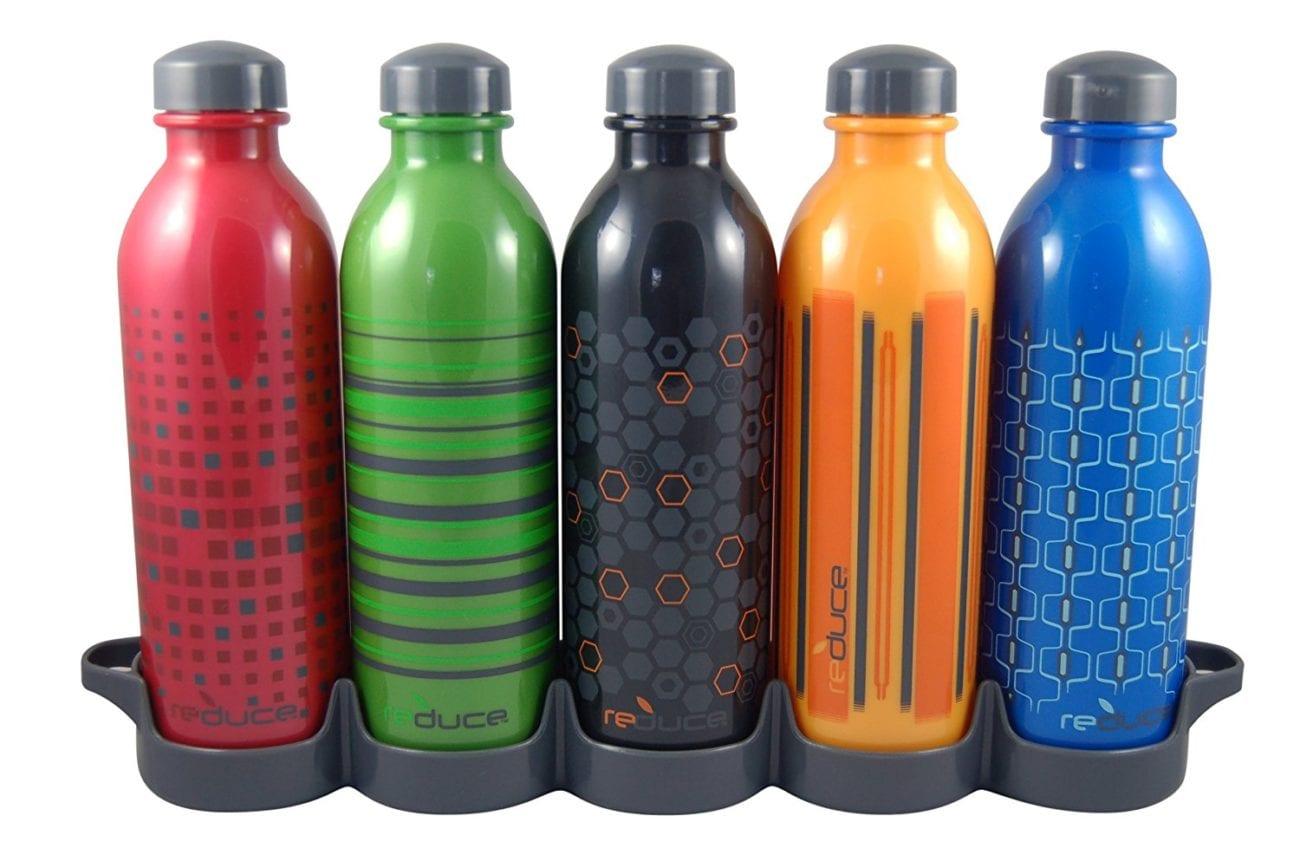 Reduce teacher water bottles