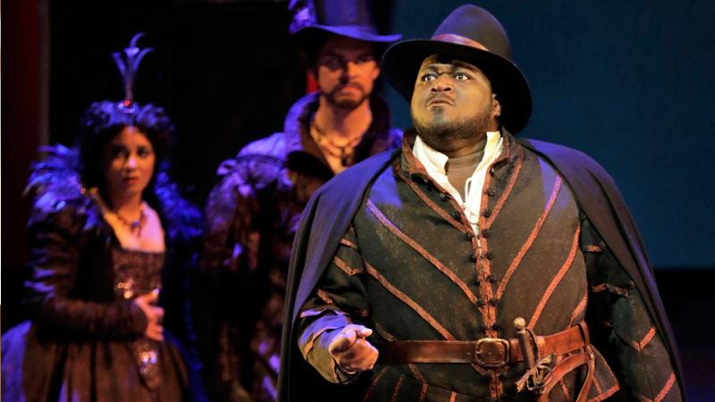 Reginald Smith Jr performing at the San Francisco Opera.