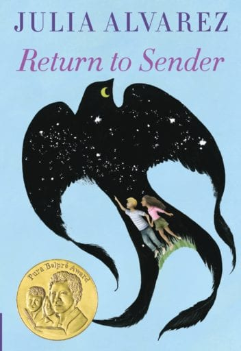 Return to Sender book cover--middle school books