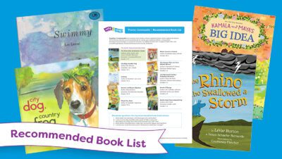 RIF Rally to Read September book lists