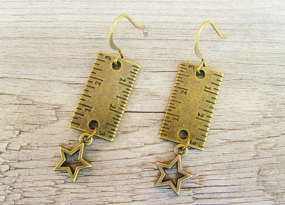 ruler-earrings