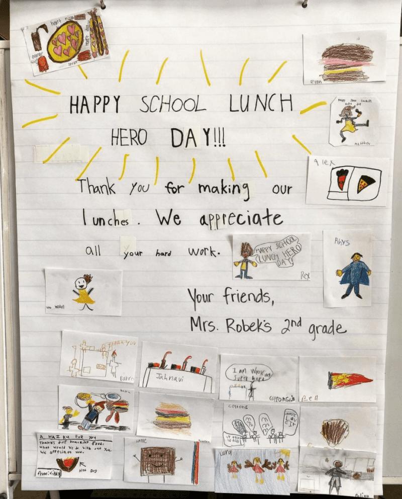 Happy School Lunch Hero Day