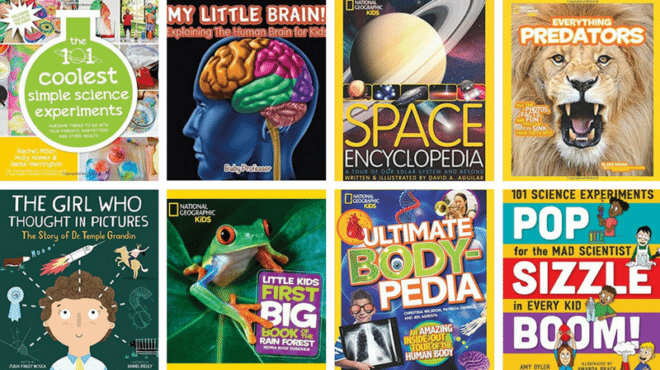 Science magazine covers.