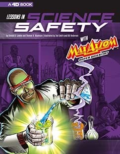 Science Safety Book Cover