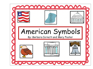 American Symbols Booklet cover.