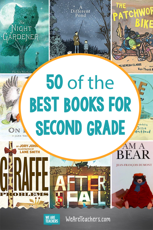 50 of the Best Books for Second Grade