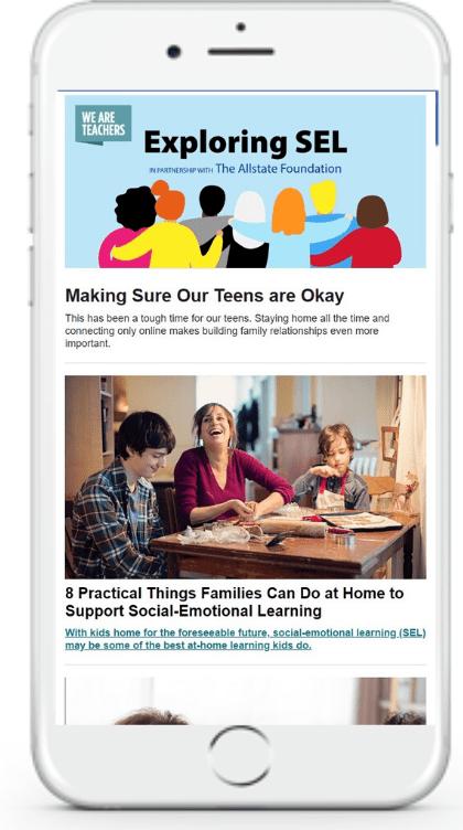 social-emotional learning newsletter